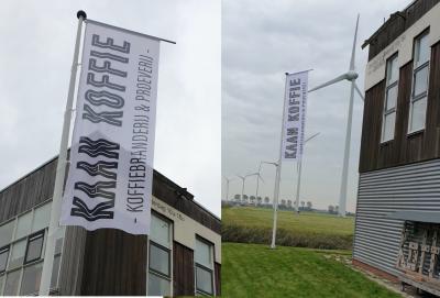 Nieuwe vlag aan de mast!
