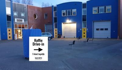 Corona - Aanpassingen in de branderij - Koffie Drive-In