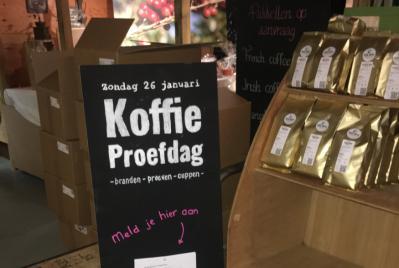 Koffie Proefdag nu ook duidelijk in de branderij!